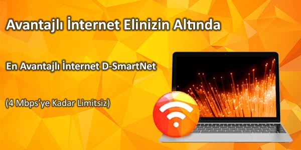 D-Smart İnternet Kampanyaları Listesi - Smart Abonelik