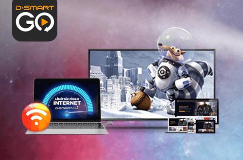 D-Smart ve İnternet Bir Arada Kampanyası - SmartAbonelik
