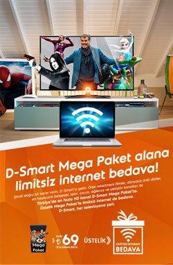 D-Smart Kampanyası - Sinema ve Dizi Paketi Kampanyası