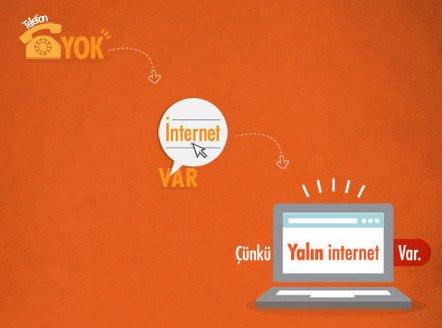 Yalın İnternet Tarifeleri